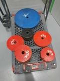 pesas de discos de acero de 30mm - foto