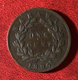 Curiosa moneda del Rajah Blanco Sarawak - foto