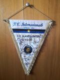 banderin alaves-inter copa UEFA firmado - foto
