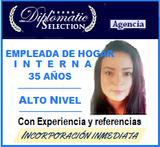 EMPLEADA INTERNA 35 AÑOS /ALTO NIVEL - foto