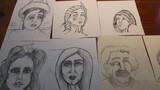 Dibujos a mano - foto