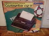 MáQUINA ESCRIBIR CASIOWRITER CW-17