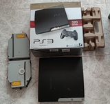PS3 Slim + Caja Playstation 3 - foto