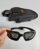 Pistolera y gafas de protección airsoft - foto