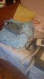 colchón anti escarbas y sabana fantasma - foto