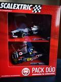 Scx Pack Dúo F1 McLaren+ Chevrolet Corve - foto