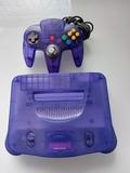 nintendo 64 , edición purple - foto