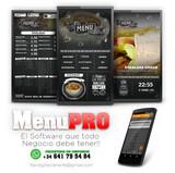 Menú Digital para Cafeterias y +++... - foto
