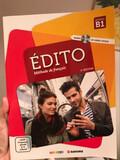 LIBRO ÉDITO FRANCÉS NIVEL B1 CON CD - foto