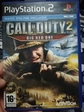 Juego ps2 call of duty big red one - foto