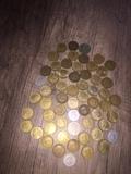 500 monedas antiguas de todo tipo - foto