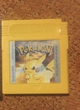 juego pokemon amarilla y funda nintendo - foto