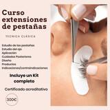 CURSO EXTENSIONES DE PESTAÑAS - foto