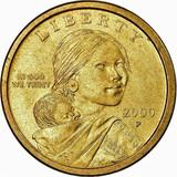 Usa 2000 dolar india sacagawea - foto