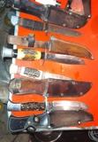 machetes cuchillos muy antiguos - foto