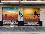 GRAFITI MURAL FACHADAS COMERCIOS - foto