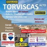 REBAJADO:  TORVISCAS BONITO ÁTICO 2 DORM - foto
