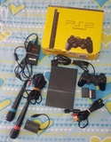 PlayStation 2 Slim +juegos +Singstar - foto
