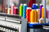 Fabrica de confección textil - foto