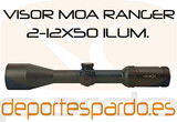 Visor MOA Ranger 6X 2-12x5 - foto