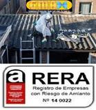 RETIRADA DE FIBROCEMENTO CON AMIANTO  - foto