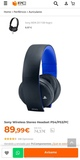 Sony auriculares 7.1 playstation - foto