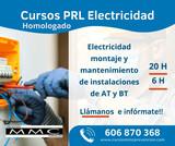 CURSO 20H RIESGOS LABORALES ELECTRICIDAD - foto