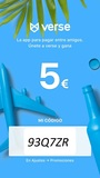 ¡5 EUROS GRATIS Y TRANFERIBLE! - foto