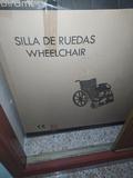 SILLA DE RUEDAS WHEELCHAIR - foto