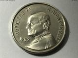 Medalla visita montserrat juan pablo ii - foto