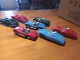 Lote de 7 coches muy antiguos scalextric - foto