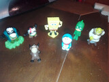 Mini personajes infantiles - foto