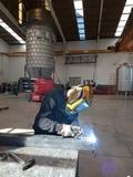 soldador montador calderero - foto