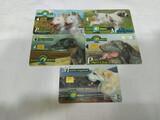 5 tarjetas telefónicas - foto