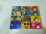 12 tarjetas telefónicas - foto