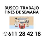 BUSCO TRABAJO PARA FINES DE SEMANA - foto