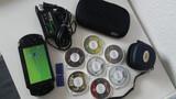 PSP con 6 juegos y 2 Memory cards - foto