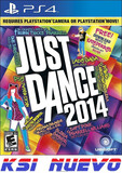JUEGO  PS4 JUST DANCE 2014         - foto