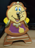figura decorativa reloj din don disney - foto