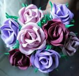 Rosa artesanal perfumada - foto