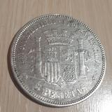 5 Pesetas de 1870 - foto