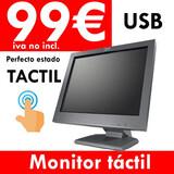 """PANTALLA MONITOR TáCTIL 15"""" . GARANTíA."""