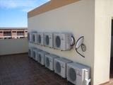 instalación de aire acondicionado - foto