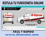 ROTULACION DE FURGONETAS AHORRAS + 50 % - foto