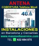 Antena cobertura teléfono móvil - foto