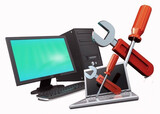 Reparación y formateo de ordenadores - foto