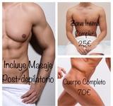 Depilación Masculina Integral - foto