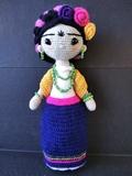 Muñeca Frida Kahlo Amigurumi - foto