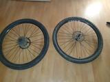 ruedas de montaña - foto