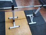 rack sentadillas crossfit musculacion - foto